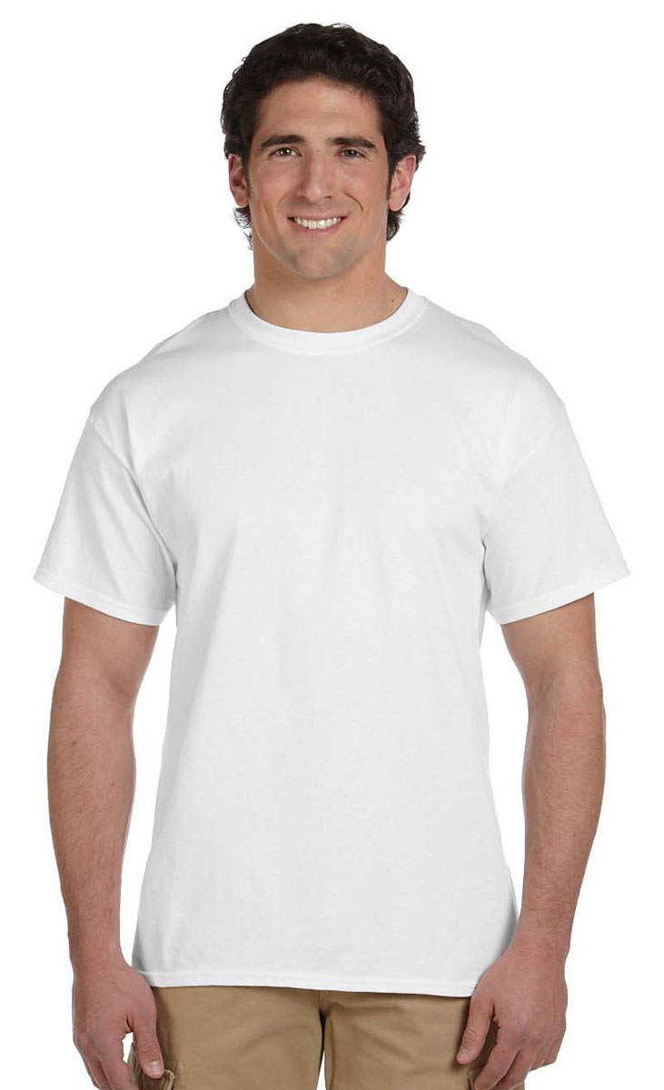 75178c4f Hanes Pack6 Adult ComfortBlend® EcoSmart® T-Shirt, Style 5170-Pack6